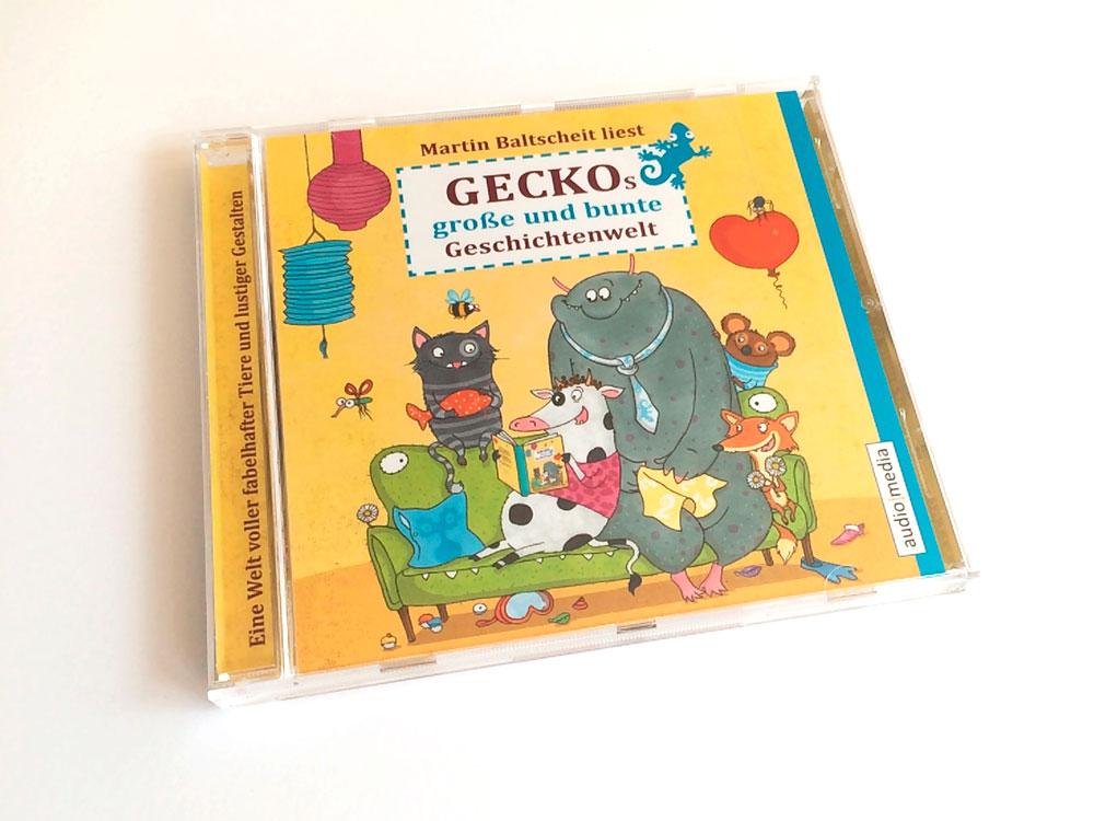 Geckos große und bunte Geschichtenwelt. Hör-CD