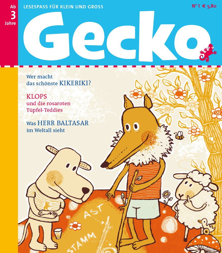 Gecko Nr. 1
