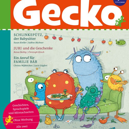 Cover Gecko Nr. 56