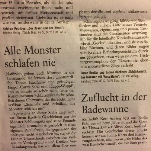 Rezension in der Frankfurter Allgemeine Sonntagszeitung