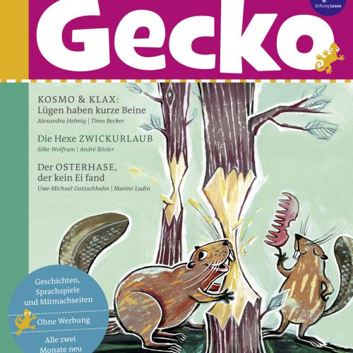 Cover von Gecko Ausgabe 58