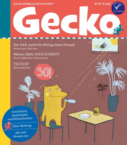 Cover der Gecko-Ausgabe 59