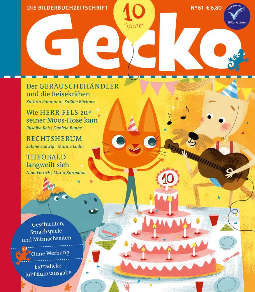 Cover Gecko 61 – Extradicke Jubiläumsausgabe