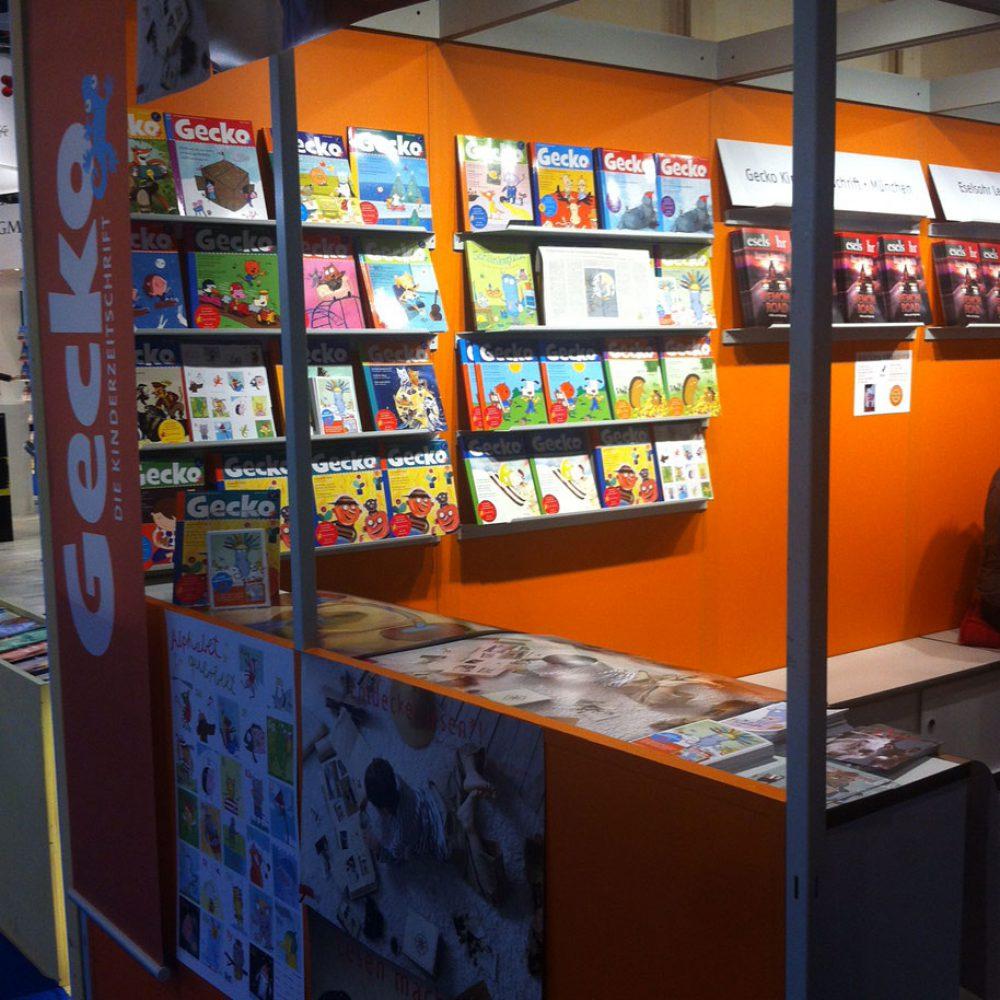 Gecko auf der Frankfurter Buchmesse