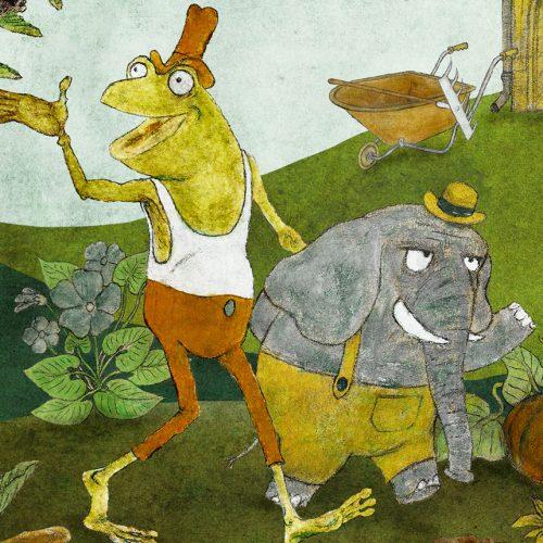 Frosch und Fant. Von Till Charlier
