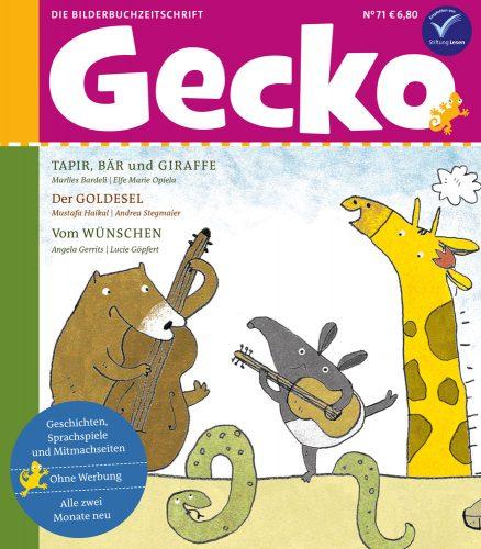Cover von Gecko Nr 71