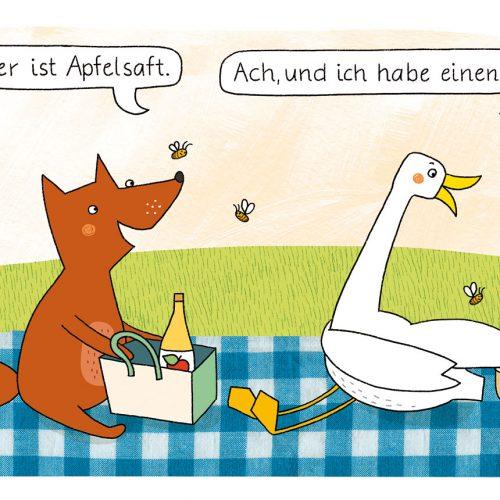 Horst und Helga, Illu: Mascha Greune