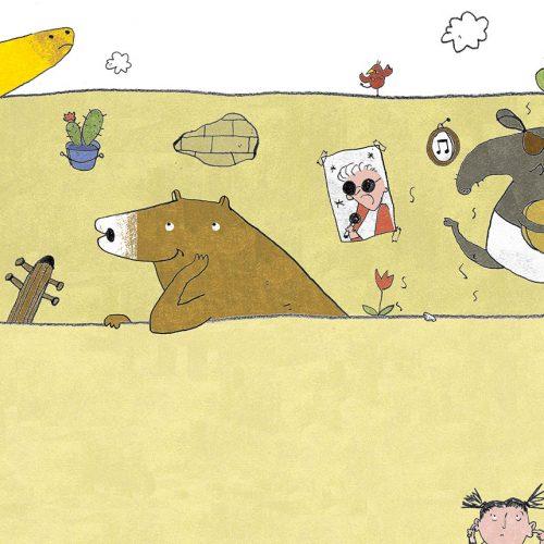 Tapir, Bär und Giraffe von Elfe Marie Opiela