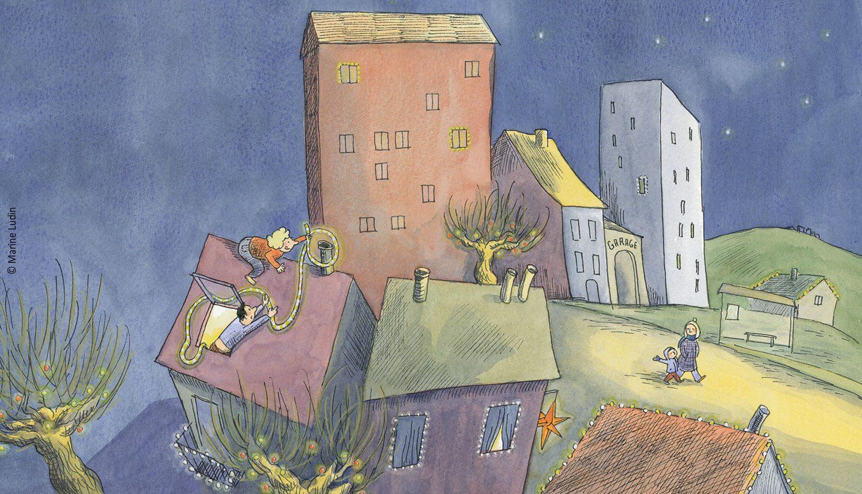 Illustration aus Juri und die Lichter