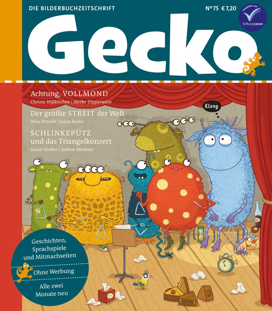 Cover von Gecko Nr 75