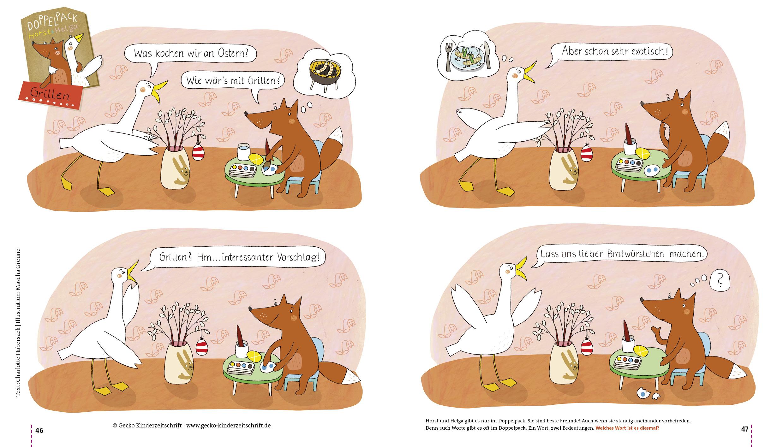 Horst und Helga: Grillen