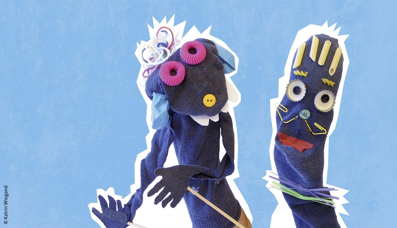 Socken Spielfiguren
