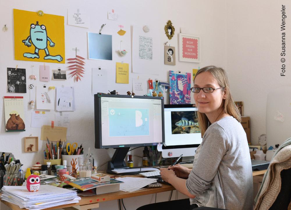 Ina Hattenhauer fotografiert von Susanna Wengeler