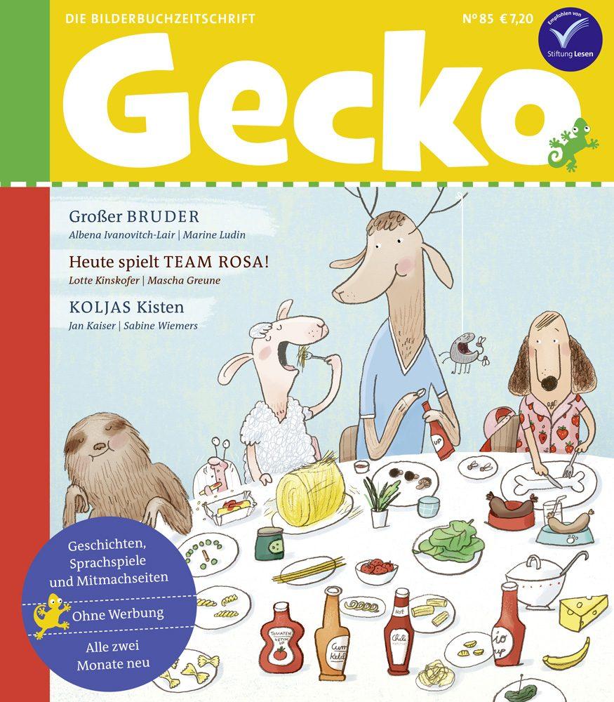 Gecko 85 ist da!